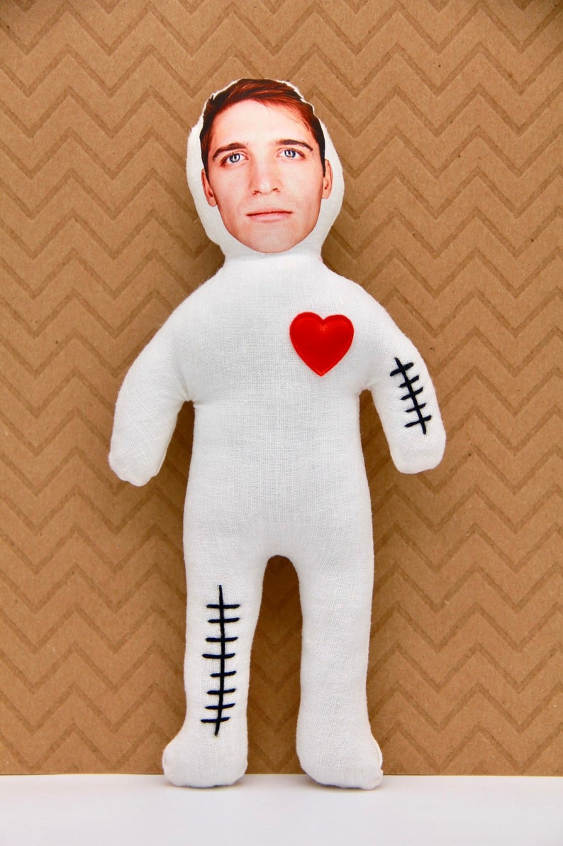 Photo REVENGE VOODOO DOLL Custom from Your Photo Voodoo Your image 0