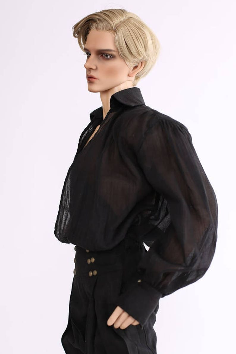SD_Classic Wrap Shirts Black image 0