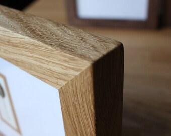 A4 Frame - Solid Oak
