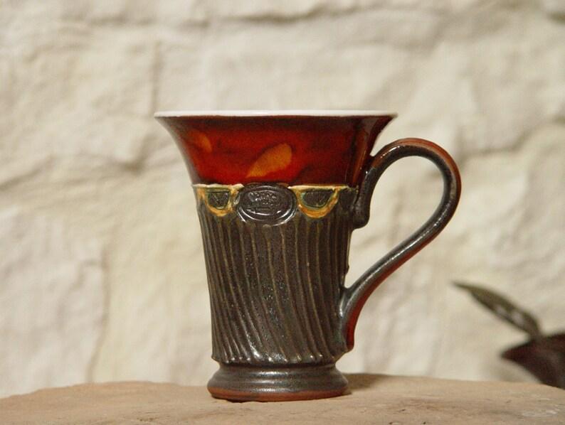 Handmade Pottery Mug  Ceramic Coffee Mug  Teacup  Kitchen image 0
