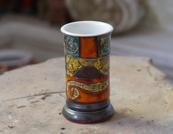 Pottery Tumbler - Ceramic Dinner Mug - Earthen Mug - Handmade Water Glass - Pottery Cup - Tea Cup - Ceramic Tumbler - Small Vase - Danko