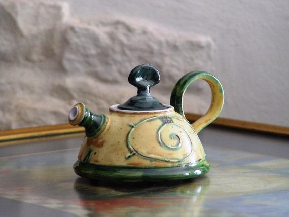 Pottery Teapot, Coffee or Tea Pot, Ceramic Teapot, Danko Pottery, Clay Teapot,  Wedding Gift, Christmas Gift, Functional Pottery