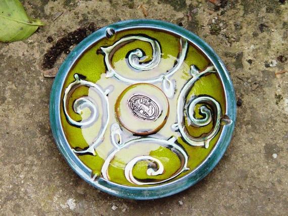 Decorative Pottery Tray. Ceramic Ash Tray, Pottery Ashtray. Ceramics and Pottery, Smoking tray, Ceramic art