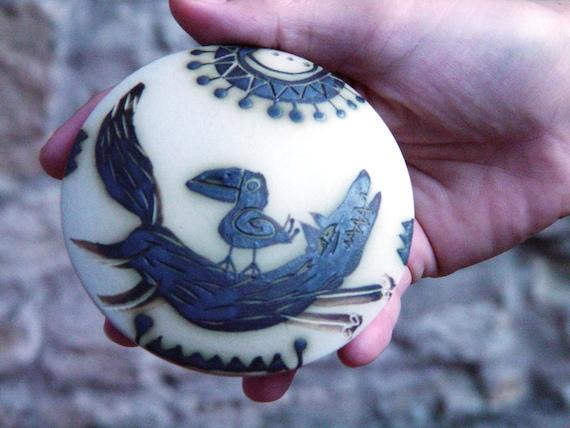 Salt and Pepper, Stoneware Salt Shaker, Pepper shaker, Handmade salt box, Pottery, Cute pottery, Ceramics and Pottery