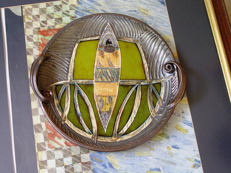 Ceramics And Pottery Serving Tray Wall Hanging Plate Wall Decoration Home Decor Handmade Pottery Ceramic Art Danko Pottery