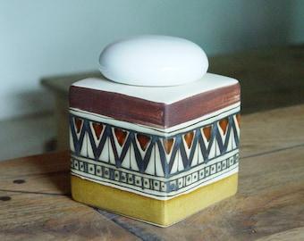 Stoneware Sugar Bowl. Handmade Ceramic Sugar Bowl, Sugar Box, Sugar Keeper, Unique Sugar Bowl, Wedding gift