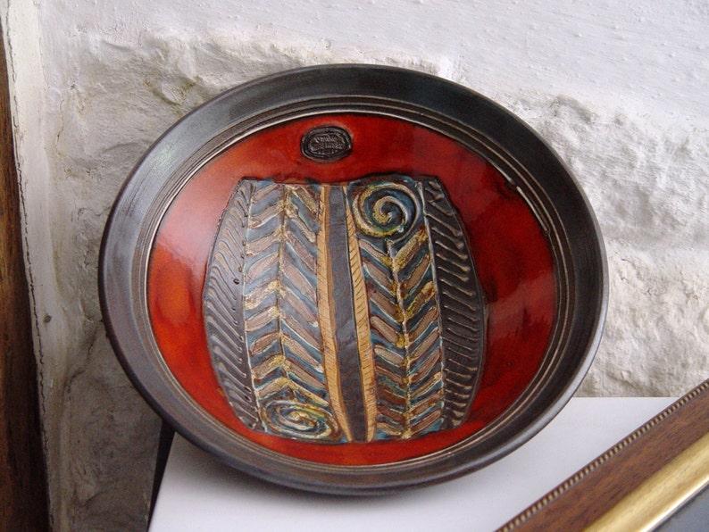 Fruit Bowl Handmade Pottery Ceramic Bowl Wedding Gift Fruit image 0