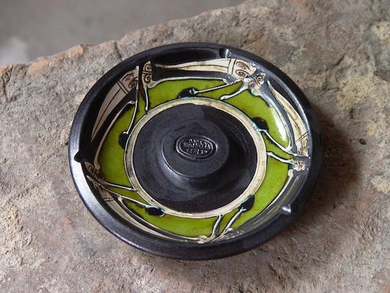 Ash tray - Smoking tray - Pottery ash tray - Ceramic ash tray - Wheel thrown ash tray - Clay art - Ceramics and pottery - Home Decor - Danko