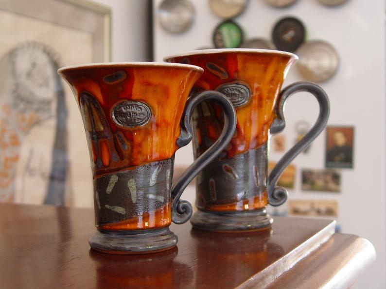 Unique Pottery Mug  Teacup  Coffee Mug  Cute Ceramic Cup  image 0