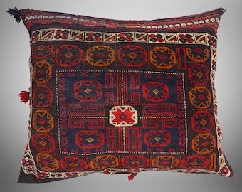 19C Set of 3 Pcs  1x Mattress 2x cushions orient Afghan nomad pillow rug seat floor cushion 1001-night Seating  majlis Toshak \u062a\u0648\u0634\u06a9