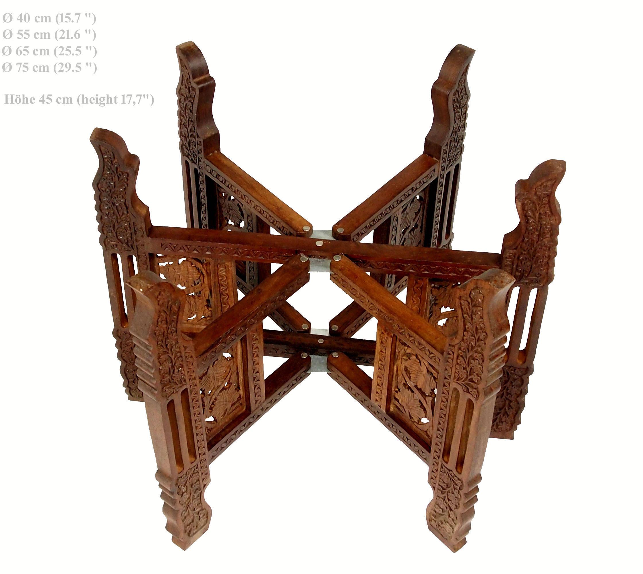 Tischgestell für orientalische Teetisch zusammenklappbare   Etsy