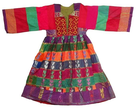antique hand embroidered nomadic Kuchi Ethnic silk