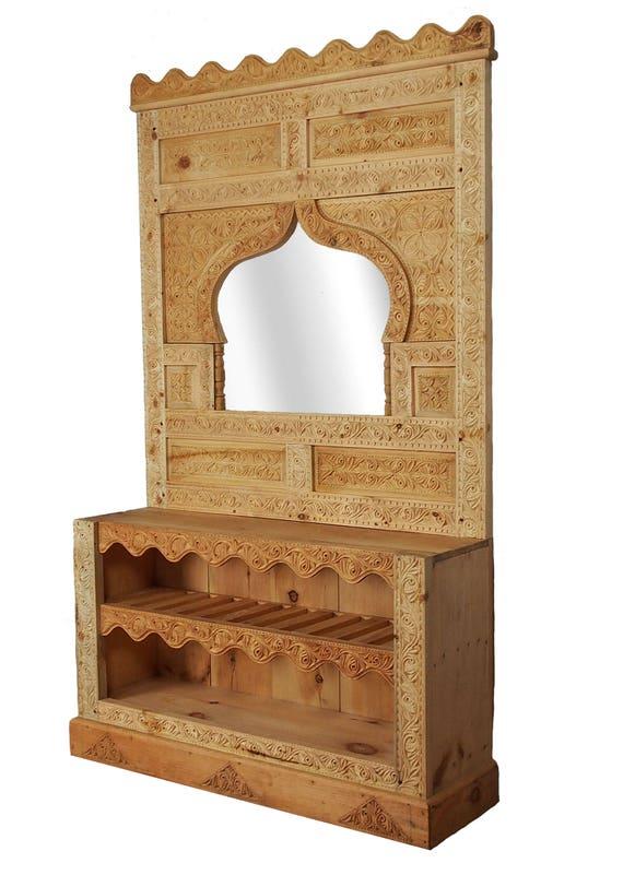 Muur Plank Hout.Massief Hout Land Huis Muur Plank Muur Plank Kast Kast Verdieping Garderobe Muur Kledingkast Afghanistan Nooristan 18 S