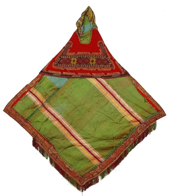 antique hand embroidered nomadic Ethnic  wedding d