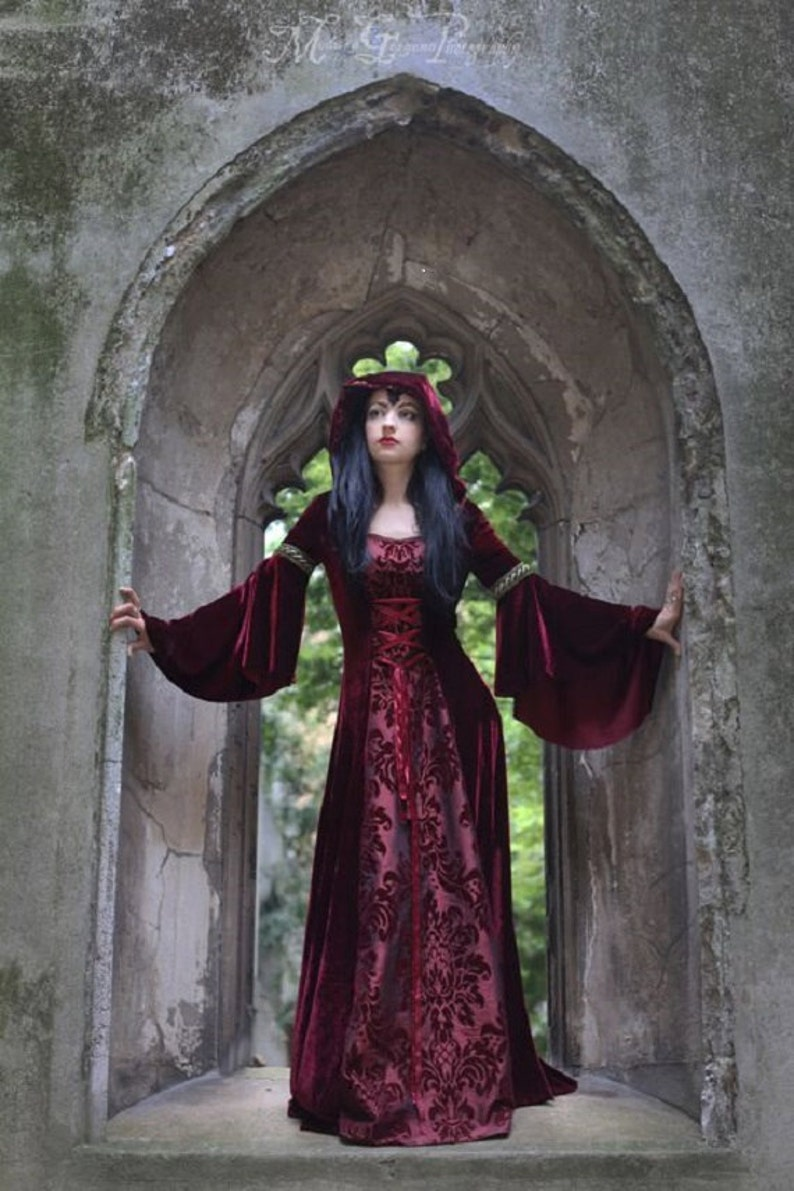 Handmade Gothic Harajuku Fashion W H Naoto Spiderweb Bag: Forest Dress Most Colours Available Handmade Gothic Velvet