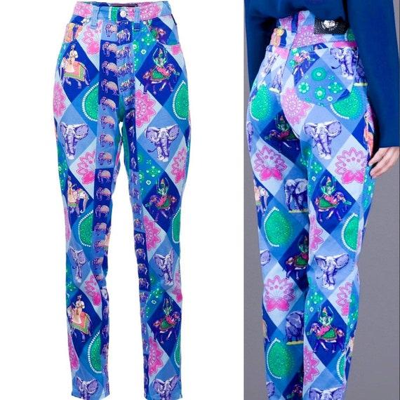 Vintage Gianni Versace Printed Pants