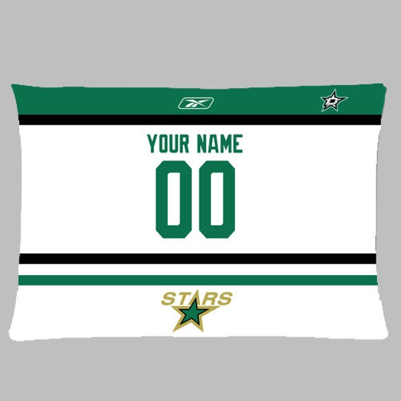 NEW Custom San Jose Sharks Hockey Pillow Case With Your Name and Numbers