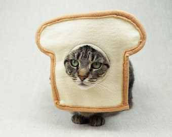 Bread Cat Costume for Cats
