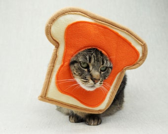 Marmalade Toast Costume for Cats