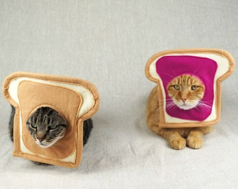 Peanut Butter and Jelly Couples Costume for Cats