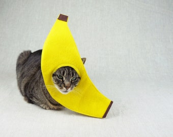 Banana Costume for Cats