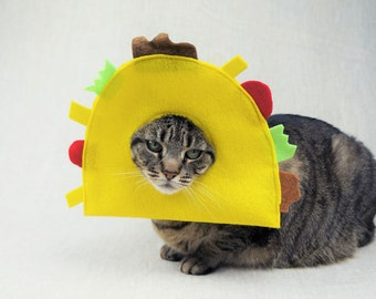 Taco Costume for Cats