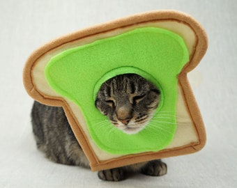 Avocado Toast Costume for Cats