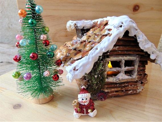 fairy garden cottagechristmas fairy gardenchristmas fairy housefairy housesnow