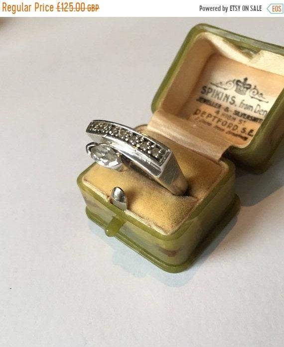 Vintage Silver Ring, Vintage Silver ring, Silver … - image 2
