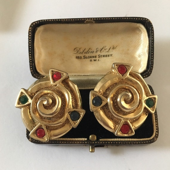 Vintage Earrings, Vintage Costume Earrings, Costum