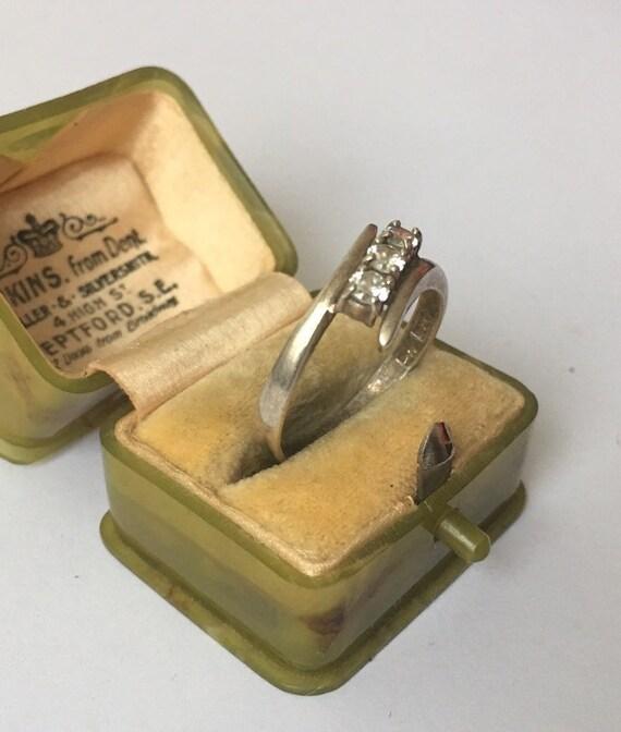 Vintage Silver Ring, Silver Ring, Modernist Silve… - image 6
