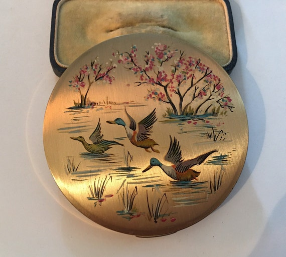 Vintage Compact, Stratton Compact, Vintage Compact