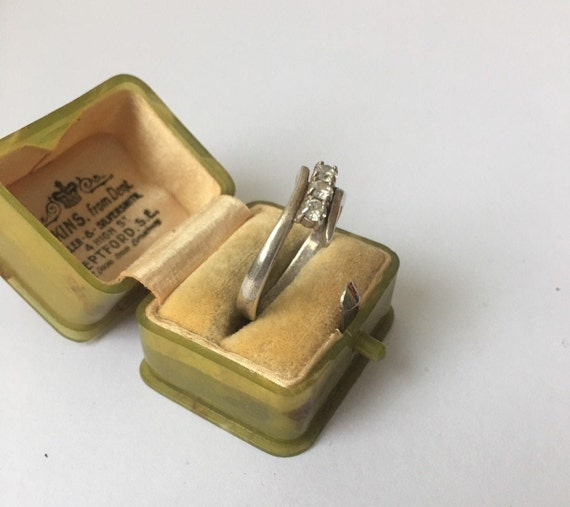 Vintage Silver Ring, Silver Ring, Modernist Silve… - image 5