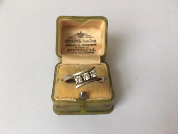 Vintage Silver Ring, Silver Ring, Modernist Silve… - image 7