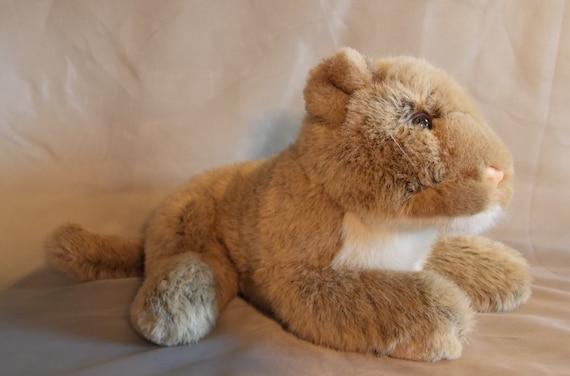 Chosun International Lioness Mountain Lion Plush Stuffed Etsy