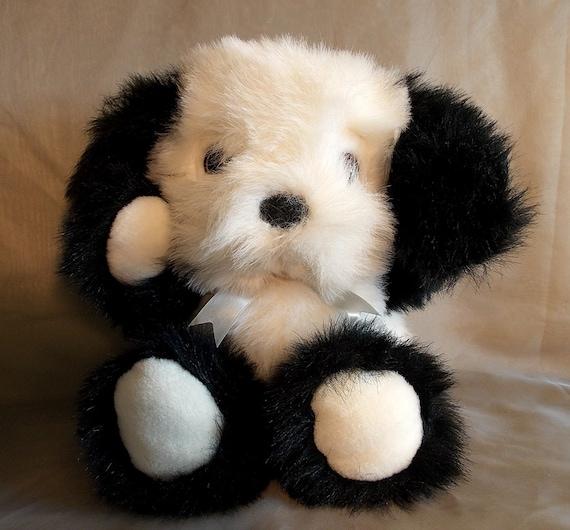 Fairview Plush Dog Stuffed Animal Border Collie Puppy Floppy Etsy