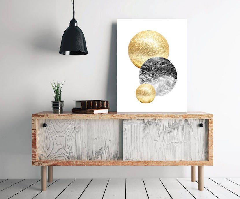 affiche scandinave affiche minimaliste d co nordique d co. Black Bedroom Furniture Sets. Home Design Ideas