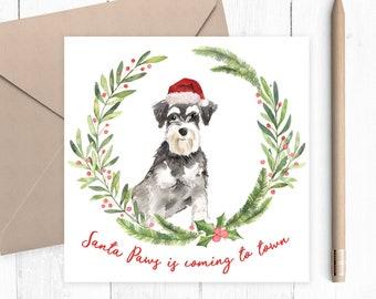 Dog Christmas Puns.Januka Holiday Cards Etsy