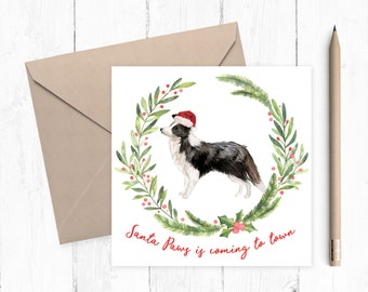 Jack Russell Christmas Card Set Cute Dog Christmas Card Pack Etsy