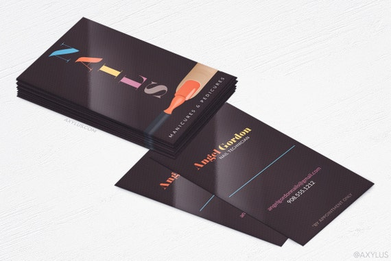 image 0 - Nail Tech Business Cards