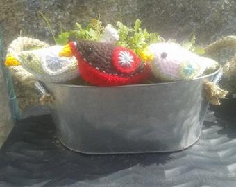 Crochet Bower Birds