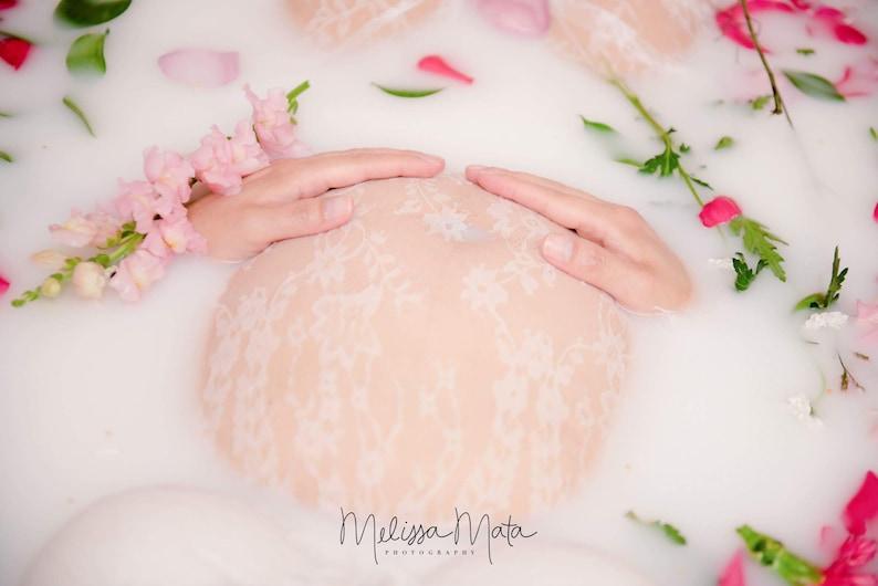 0c77603dcc915 Maternity lace dress milk bath lace dress lace dress beach | Etsy