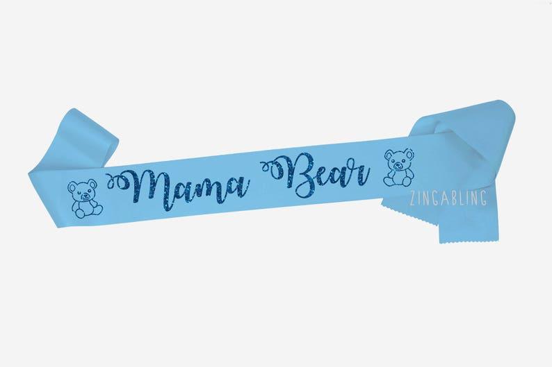 667df707ca583 Mama Bear Teddy Bear decor Baby Shower gift Mom To Be Sash | Etsy
