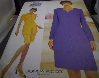 1994 Butterick 3749 Sewing Pattern, Dress, Sz. 12-16, Cut