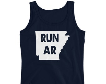 Arkansas Shirt, Arkansas Tank, Arkansas Tee, AR Shirt, AR TAnk, AR Tee, Run Arkansas Tank, Arkansas Running Tank Top, Run Ar, Ar Running