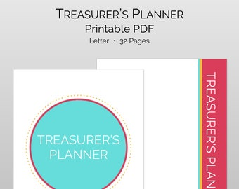 Pta Pto Treasurer S Finance Manager Treasurer Software Etsy