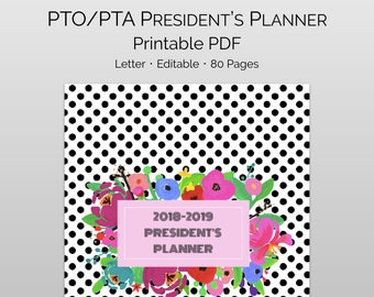membership planner and and parent involvement kit for pta etsy