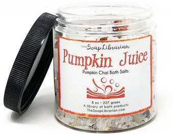 Pumpkin Juice Bath Salts