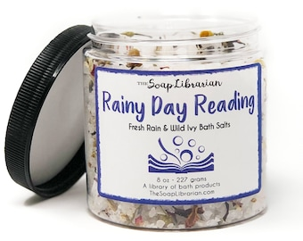 16 Ounce Rainy Day Reading Bath Salts