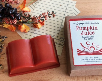 Pumpkin Juice Bar Soap